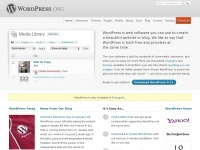 Wordpress.org - WordPress › Blog Tool, Publishing Platform, and CMS