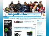 JUEGOS BARATOS | Ahorra en tus Videojuegos de 3DS, PC, PS3, PS Vita, Wii, Wii U y Xbox 360