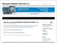 Marques Balboa Internet S.L.