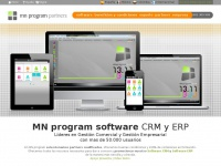 MNprogram software partners, CRM y ERP, hazte distribuidor de software