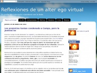 Reflexiones de un alter ego virtual