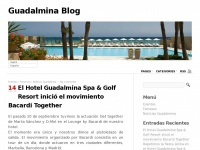 Blog. Hotel Guadalmina SPA & Golf Resort. Marbella