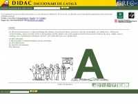 Dicdidac.cat - DIDAC. DICCIONARI DE CATAL&Agrave;