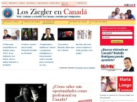 Vivir, trabajar y estudiar en Canada contado por inmigrantes | Los Ziegler en Canada