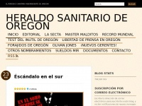 Heraldodeoregon.wordpress.com - HERALDO SANITARIO DE OREGÓN | El periódico Sanitario independiente de Oregon