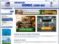 Juegosdesonic.com.mx - Juegos de Sonic