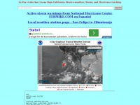 Eebmike.com - Hurricane storm and weather info for La Paz Cabo San Lucas Baja California Mexico Storm, and Hurricane tracking