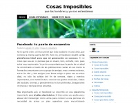 cosasimposibles.wordpress.com