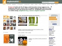 Singles Madrid - La red single gratuita de Madrid