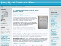 Raul Barral Tamayo&#039;s Blog