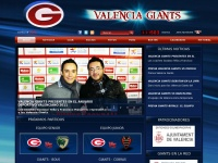 Web Oficial Valencia Giants