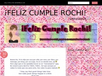 &iexcl;Fel&iacute;z cumple Rochi!