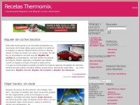 Recetas Thermomix.