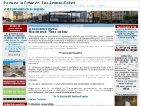 Plaza de la Estacion. Las Arenas - Getxo