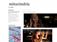 MARIA SANTFORES website - MITOCONDRIA