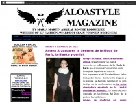ALOASTYLE MAGAZINE BY CHUS MARTIN AND RONNIE RODRIGUEZ