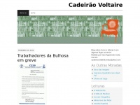 Cadeir&atilde;o Voltaire | Livros, leituras e edi&ccedil;&atilde;o.