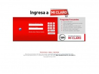 Miclaro.com.pe - Sistema Mi Claro