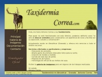 taxidermiacorrea.com