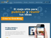 Crea tu blog gratis en es.over-blog.com - Directorio de blogs en español
