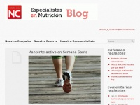 Blog nutrición center