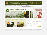 Aceitesmontevilla.com - San Francisco de As&iacute;s de Montefr&iacute;o