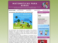 EJERCICIOS DE MATEM&Aacute;TICAS PARA NI&Ntilde;OS DE PRIMARIA, SECUNDARIA Y ESO. PROBLEMAS DE MATEM&Aacute;TICAS INFANTILES, SUMAS Y RESTAS, LA TABLA DE MULTIPLICAR, EDUCACI&Oacute;N INFANTIL.