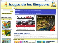 Juegos de los simpson