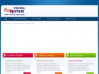 Easy System - Easy System presta servicios de ense&ntilde;anza tanto a particulares como a empresas en el campo de la inform&aacute;tica y las nuevas tecnolog&iacute;as