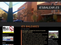 RECURSOS TIC IES BALEARES JOSE LUIS VILLANUEVA