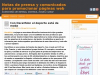 Notas de prensa y comunicados relacionados con moda, estetica, belleza. Posicionamiento web y popularidad en buscadores